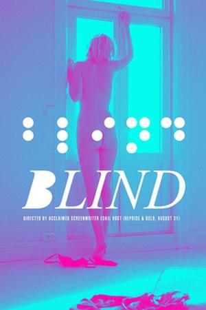 Blind (2014 film) - Film poster