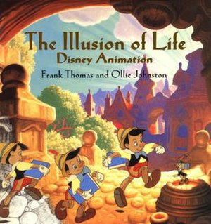 Disney Animation: The Illusion of Life - Book cover