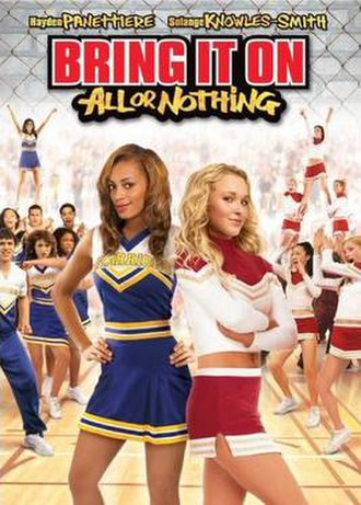 Bring It On: All or Nothing - DVD cover