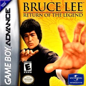 Bruce Lee: Return of the Legend - Cover art of Bruce Lee: Return of the Legend