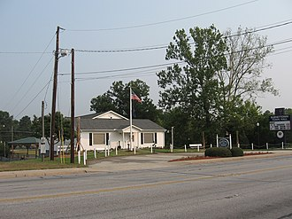 Burnettown, South Carolina - Former Burnettown Town Hall