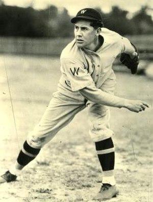 Carl Fischer (baseball) - Fischer with Washington Senators