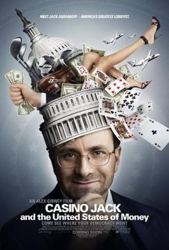 Casino Jack and the United States of Money - Image: Casino Jack and the United States of Money