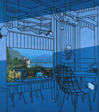 Patrick Caulfield - After Lunch, 1975, Tate Gallery