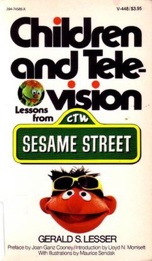 Children and Television: Lessons from Sesame Street - Book cover