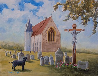 Black dog (ghost) - Church Grim