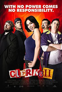 <i>Clerks II</i> 2006 American comedy film directed by Kevin Smith