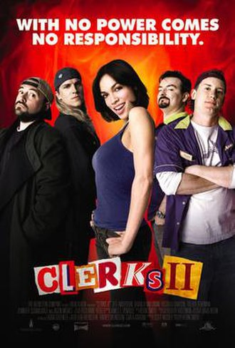 Clerks II - Theatrical release poster
