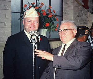 KMRS - KMRS founder Clifford Hedberg (right)