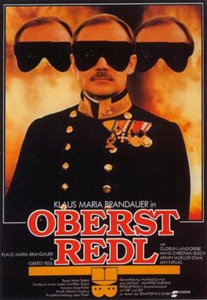 Colonel Redl - Theatrical release poster