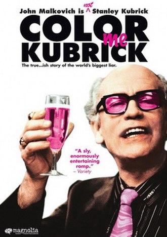 Colour Me Kubrick - Image: Colour Me Kubrick Poster