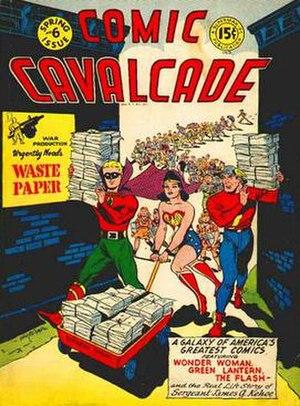 Comic Cavalcade - Image: Comic Cavalcade 6