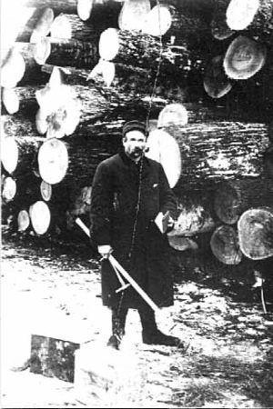 Cordwood Pete - Lumberjack Cordwood Pete