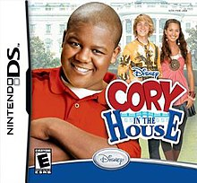 Cory in the House Nintendo DS Box Art