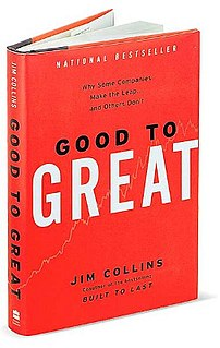 <i>Good to Great</i> book by James C. Collins