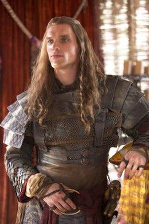 Daario Naharis - Ed Skrein as Daario Naharis in season 3