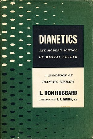 History of Dianetics - Cover of the first edition