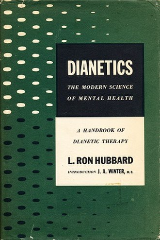 Dianetics: The Modern Science of Mental Health - Cover of the first edition
