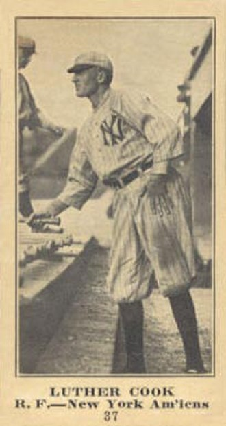 Doc Cook (baseball) - Image: Doc Cook (baseball)