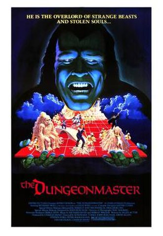 The Dungeonmaster - Theatrical release poster
