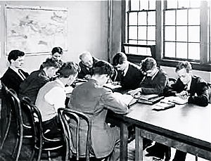 The Blake School (Minneapolis) - Early Blake boys studying