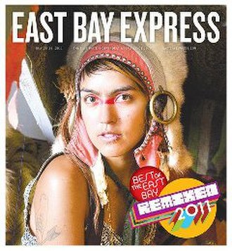 East Bay Express - Image: East Bay Express (front page)
