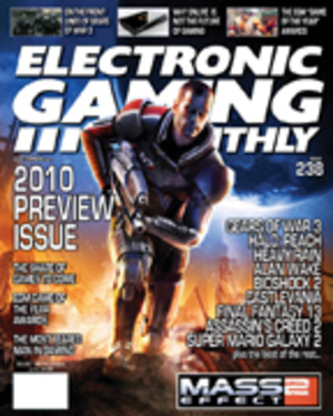 Electronic Gaming Monthly - EGM Spring 2010 cover: Mass Effect 2