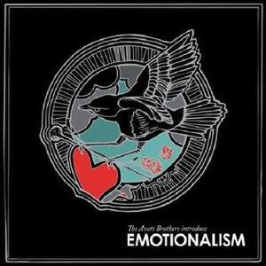 Emotionalism (album) - Image: Emotionalismcover