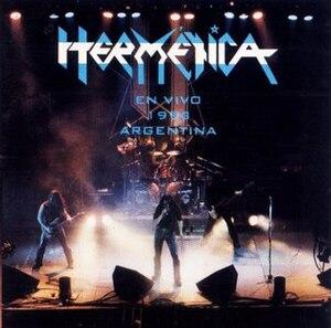 En vivo 1993 Argentina - Image: En vivo 1993 Argentina