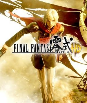 Final Fantasy Type-0 HD - Type-0 HD box art featuring central protagonist Ace