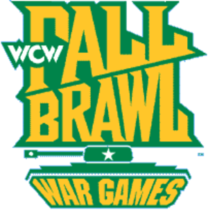 Fall Brawl - The official FallBrawl logo used from 1993 to 1998