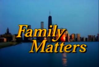 <i>Family Matters</i> American sitcom