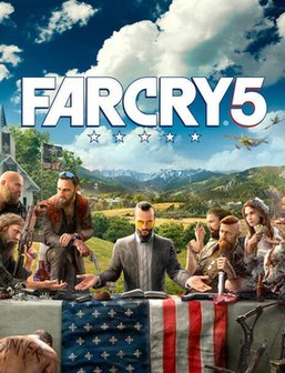 <i>Far Cry 5</i> 2018 first-person shooter game