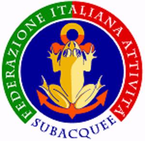 Federazione Italiana Attività Subacquee - Image: Federazione Italiana Attività Subacquee logo