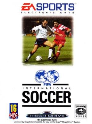 FIFA International Soccer - Image: Fifainternationalsoc cer boxart