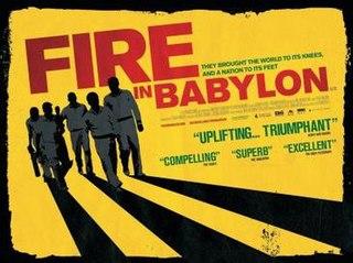 <i>Fire in Babylon</i> 2010 British film