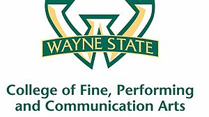 Wayne State University College of Fine, Performing, and Communication Arts - Wayne State CFPCA Logo