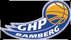 Brose Bamberg - The GHP Bamberg era logo of the club, 2003–2006.