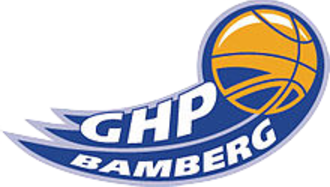 Brose Bamberg - The GHP Bamberg era logo of the club, 2003–2006.