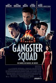 <i>Gangster Squad</i> (film) 2013 film by Ruben Fleischer