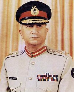 Chief of Army Staff (Pakistan) - Image: General Asif Nawaz