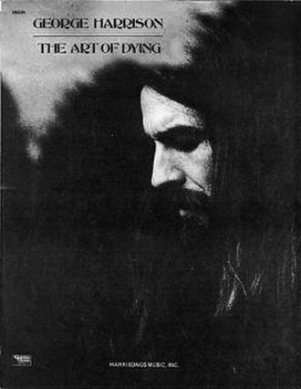 """Art of Dying (song) - Image: George Harrison """"Art of Dying"""" sheet music"""