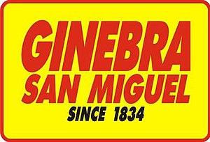 Ginebra San Miguel - Image: Ginebra San Miguel, Inc. logo