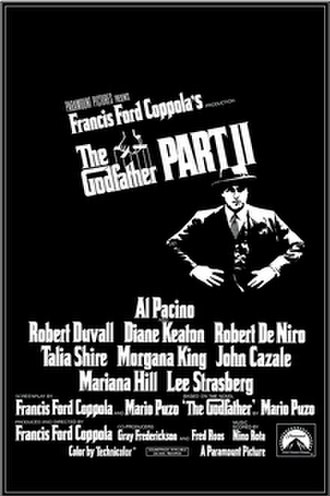 The Godfather Part II - Theatrical release poster