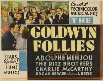 The Goldwyn Follies - One of theatrical release posters