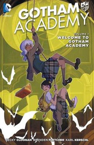 Gotham Academy - Image: Gotham Academy 1