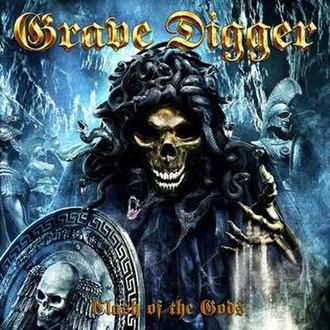 Clash of the Gods (album) - Image: Gravediggerclashofth egods