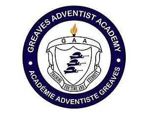 Greaves Adventist Academy - Image: Greaves Adventist Academy logo