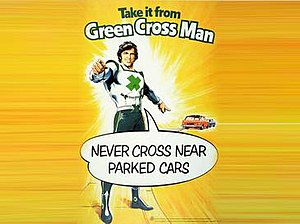 Green Cross Code - Image: Green cross man take it