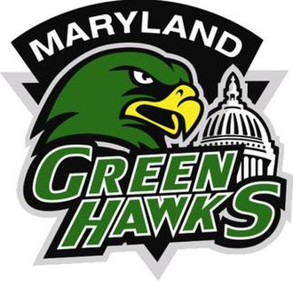 Washington GreenHawks - Logo used while they were the Maryland GreenHawks and in the PBL